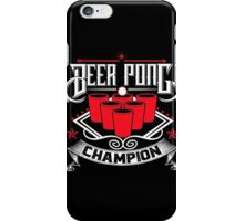 Beer - Champion iPhone Case/Skin