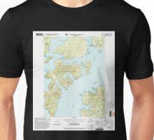 USGS TOPO Map Alaska AK Craig B-5 355274 2000 63360 Unisex T-Shirt
