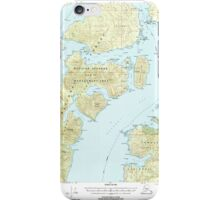 USGS TOPO Map Alaska AK Craig B-5 355274 2000 63360 iPhone Case/Skin