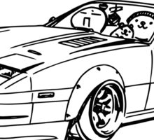 Crazy Car Art 0052 Sticker
