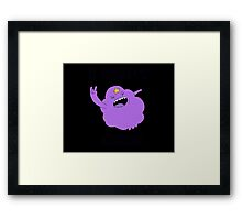 I DONT CARE! Framed Print