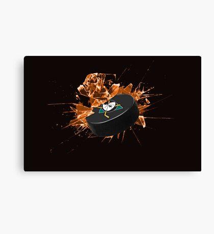 Mighty Ducks of Anaheim  Canvas Print