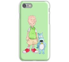 Doug and Porkchop iPhone Case/Skin