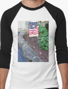 God Bless America Men's Baseball ¾ T-Shirt
