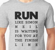 RUN - Simon Neil  Unisex T-Shirt
