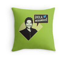 Hola, Mishamigos! Throw Pillow