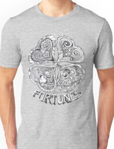 Lucky Fortune - Four Leaf Clover Unisex T-Shirt