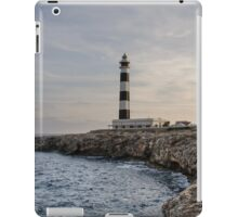 Cap d'Artrux lighthouse, Island of Menorca, Spain iPad Case/Skin