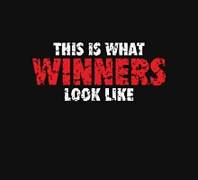 This is what Winners look like (White Red Used Look) Unisex T-Shirt