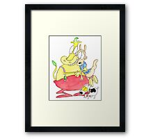 Rocko, Heffer and Spunky Framed Print