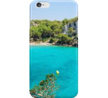 Cala Macarella bay, Island of Menorca, Balearic Islands, Spain iPhone Case/Skin