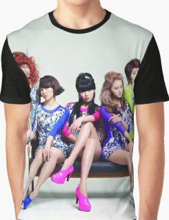 4Minute Kpop Hyuna Gayoon Jiyoon SoHyun Jihyun Crazy HATE Graphic T-Shirt