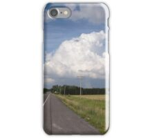 Road to the clouds iPhone Case/Skin