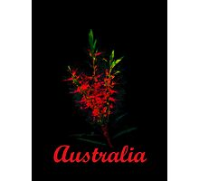 Greetings from Australia ..  Photographic Print