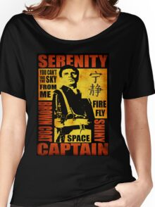 Serenity (coloured version) Women's Relaxed Fit T-Shirt