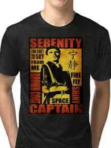 Serenity (coloured version) Tri-blend T-Shirt