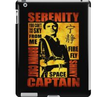 Serenity (coloured version) iPad Case/Skin