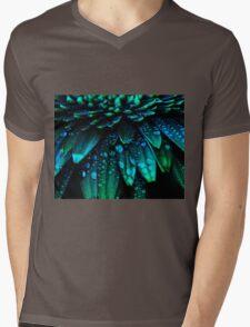 Midnight Blue Mens V-Neck T-Shirt