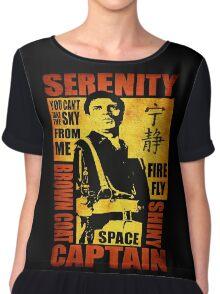 Serenity (coloured version) Chiffon Top