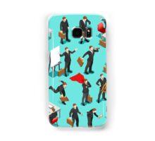 Businessman Leader Isometric Samsung Galaxy Case/Skin
