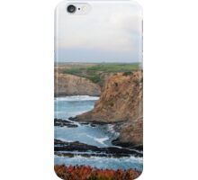 Cabo Sardao lighthouse, Alentejo, Portugal iPhone Case/Skin