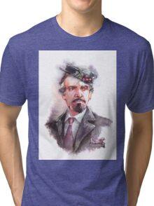 Delgado!Master and Missy's hat Tri-blend T-Shirt