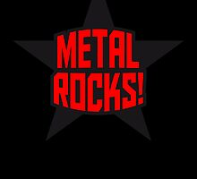 Metal Rocks Star by Style-O-Mat
