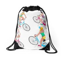 Teen Girl Cycling Drawstring Bag