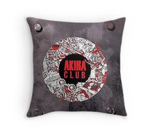 Akira club Throw Pillow