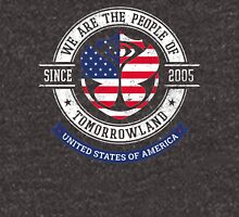 People of Tomorrowland Flags logo Badge - usa - american - united states Unisex T-Shirt