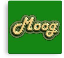 Vintage Moog Synth Canvas Print