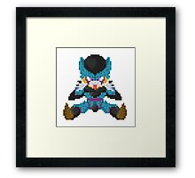 Cell Junior - Dragon Ball Framed Print