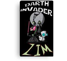 Darth InVader ZIM! Canvas Print