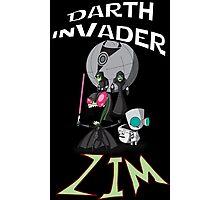 Darth InVader ZIM! Photographic Print