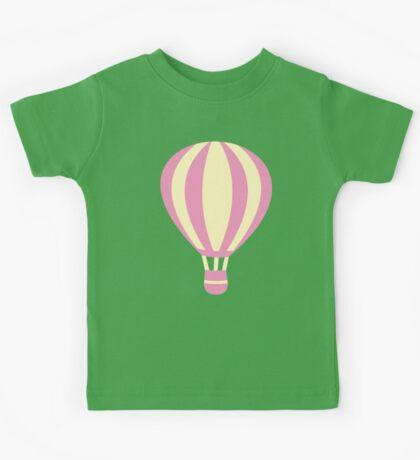 Pastel Hot air Balloon Kids Tee