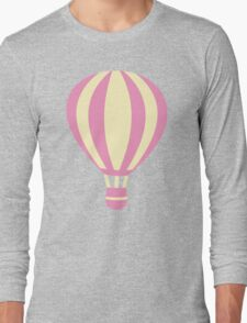 Pastel Hot air Balloon Long Sleeve T-Shirt