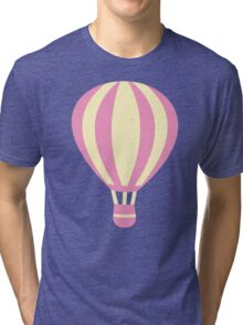 Pastel Hot air Balloon Tri-blend T-Shirt