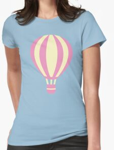 Pastel Hot air Balloon Womens Fitted T-Shirt