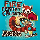 Fire Ferret Crunch by dooomcat