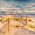 Summer Beach Dunes by Jennifer Ingram