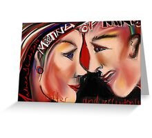 Meeting of the Minds - An Intention to create Legal Relations Greeting Card