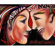 Meeting of the Minds - An Intention to create Legal Relations Photographic Print