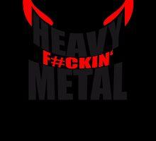 Metal Satan Devil horns logo by Style-O-Mat