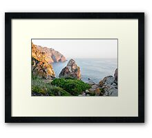 Seacoast at Cabo da Roca, Portugal Framed Print