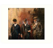 Shelby Brothers Art Print