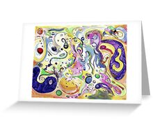 Amimages Art Greeting Card