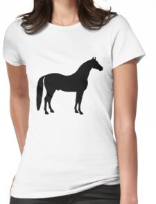 Black Stallion Womens Fitted T-Shirt