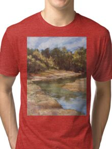 Lake Cathie - plein air Tri-blend T-Shirt