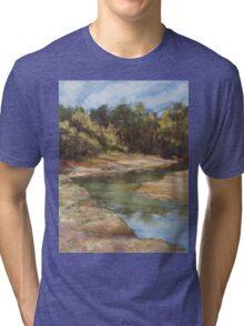 Lake Cathie - plein air Tri-blend T-Shirt