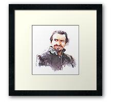 Watercolor Ainley!Master Framed Print